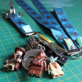 schlüsselband ohne nähen