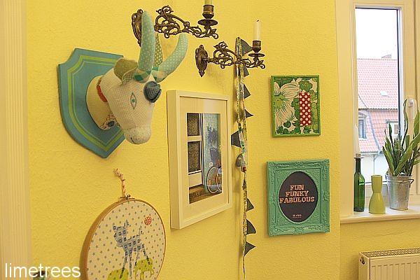 Wand deko home of limetrees for Dekoladen hannover
