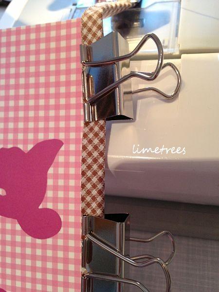 schnelle girlande aus postkarten home of limetrees. Black Bedroom Furniture Sets. Home Design Ideas