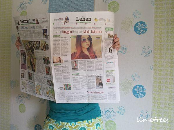gestern war ein bericht über uns in der neuen presse.