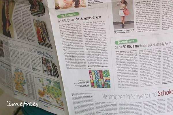 bericht über limetrees in der neuen presse hannover