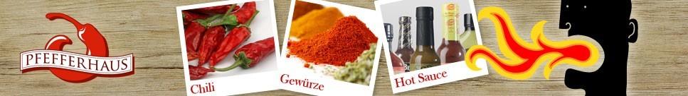 Pfefferhaus.de - Hot Sauce & Chili Produkte in allen Schärfegraden!