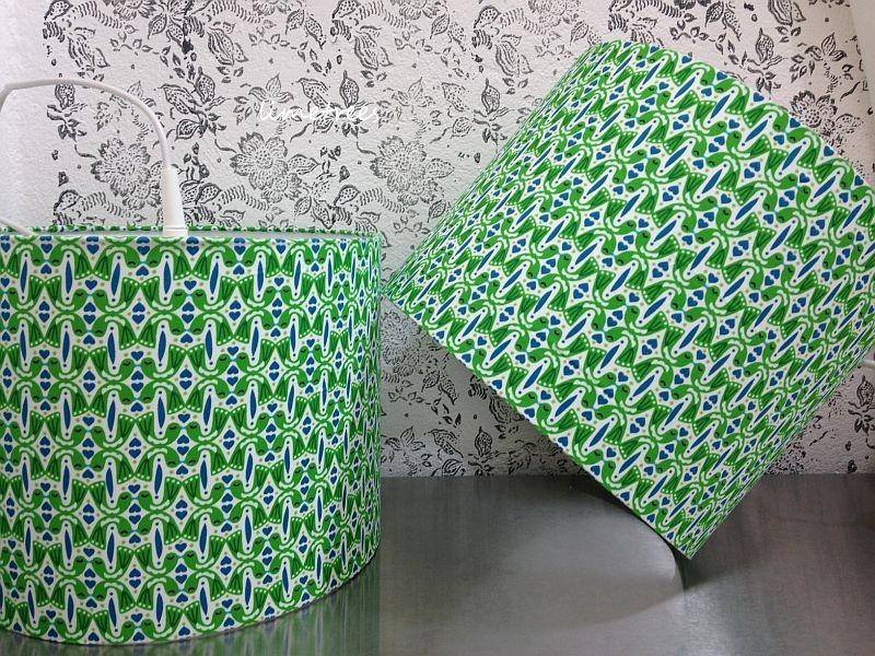 lampenschirme aus der neuen stoffkollektion von frau jolijou