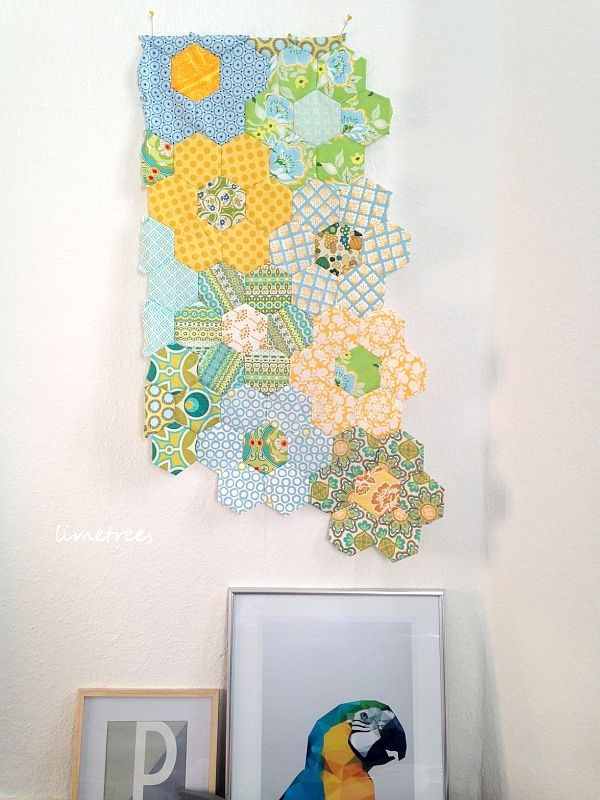 hexagon-quilt to be