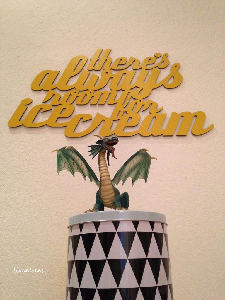 icecreme für die wand