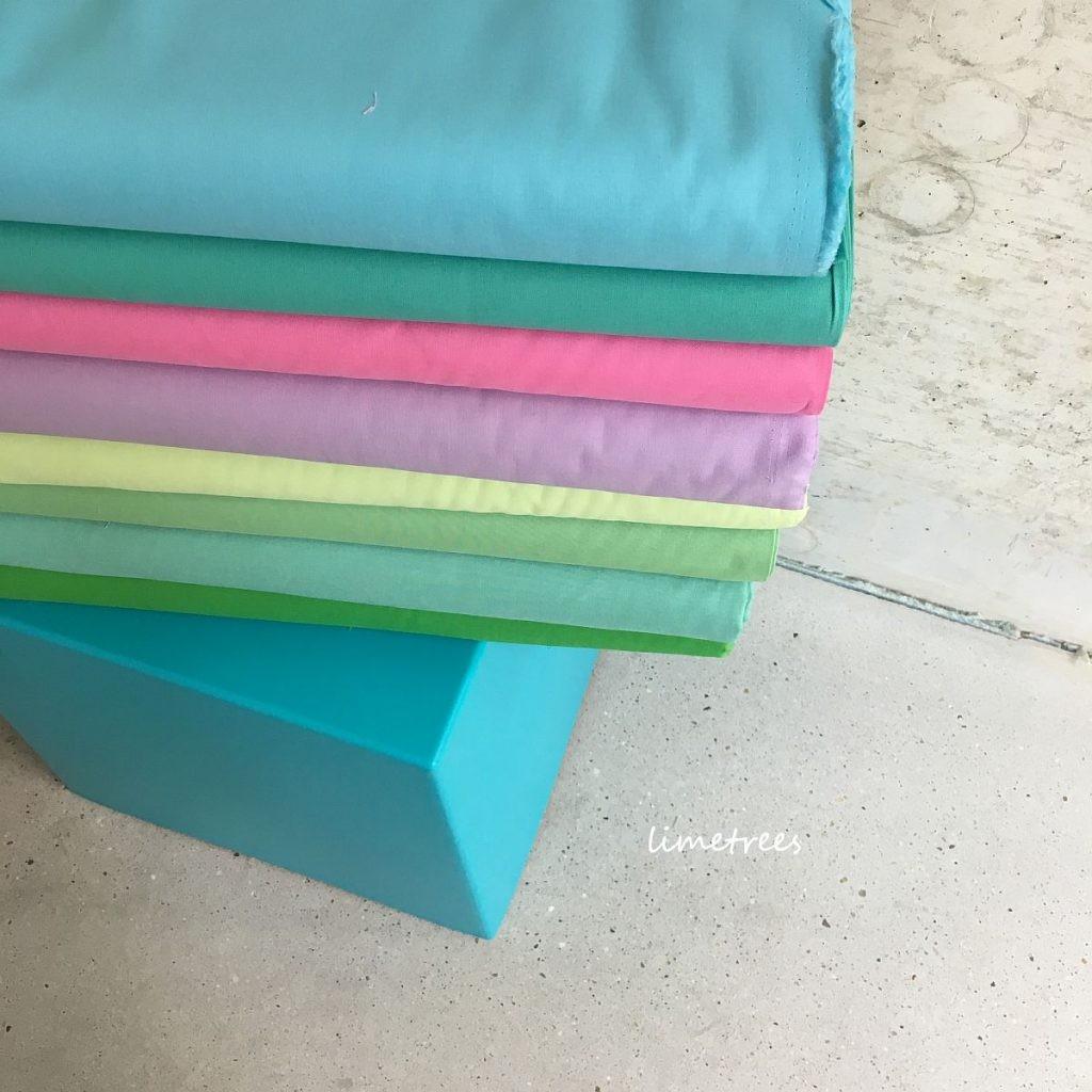 baumwollstoffe in pastelltönen