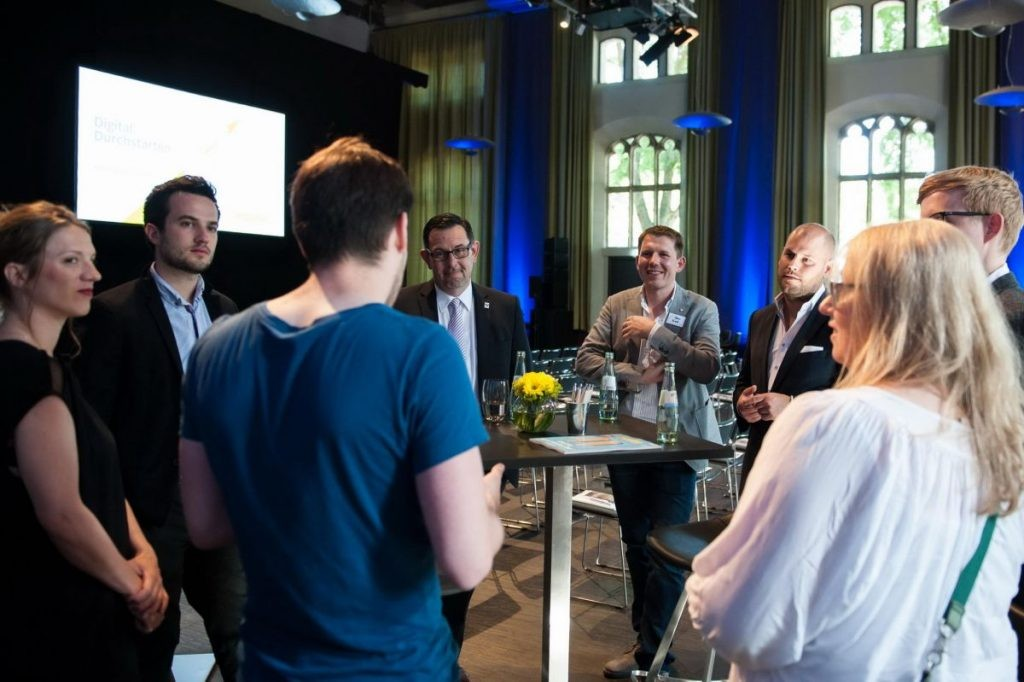 meet and greet bei digital durchstarten