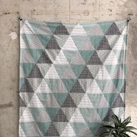 kurzanleitung für eine triangel-patchworkdecke