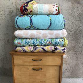 Muster-Decken zu verkaufen