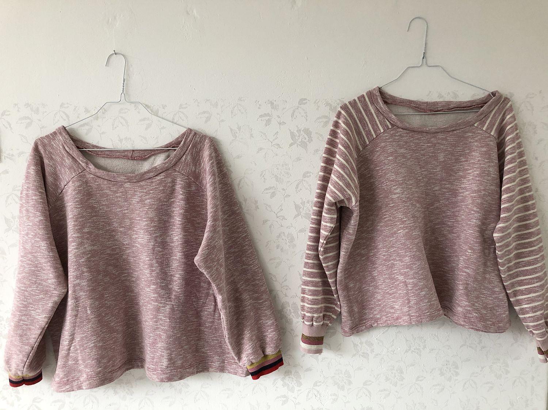 schnittmuster sweatshirt cara