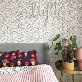 gemütliches Schlafzimmer mit Vintage-Touch
