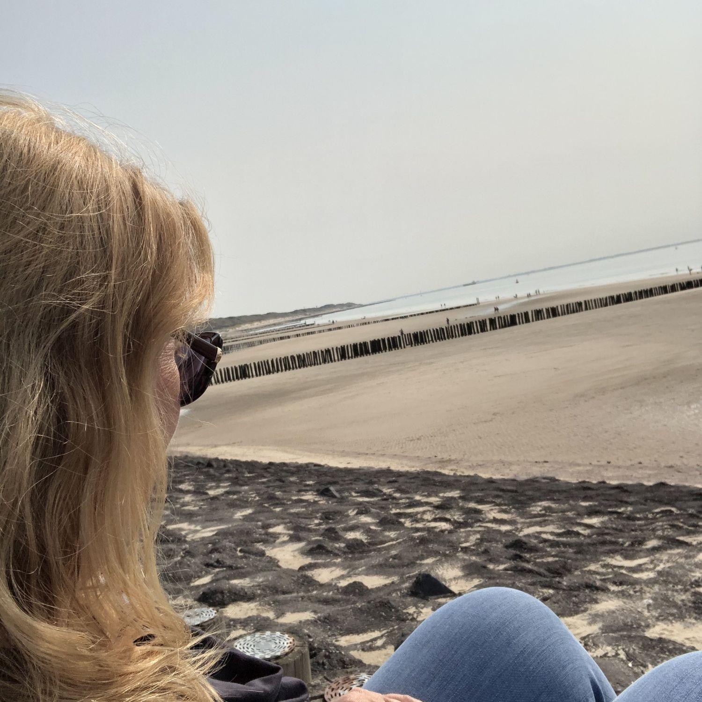 ich am strand zeeland