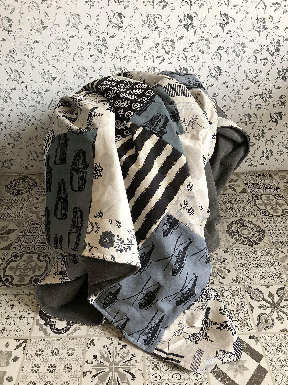 Decke mit Fleecerückseite