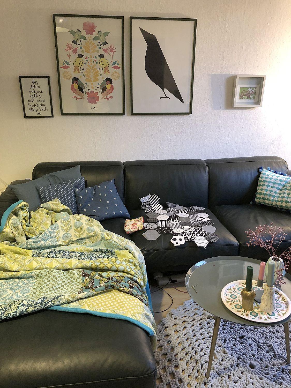 Wohnzimmer mit Rolf Benz Sofa