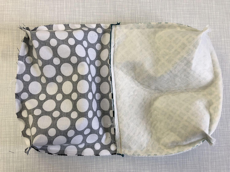Taschenboden zusammennähen