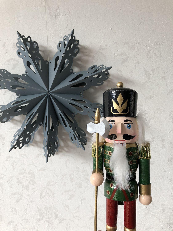 Weihnachten ... Deko Stern mit Nussknacker