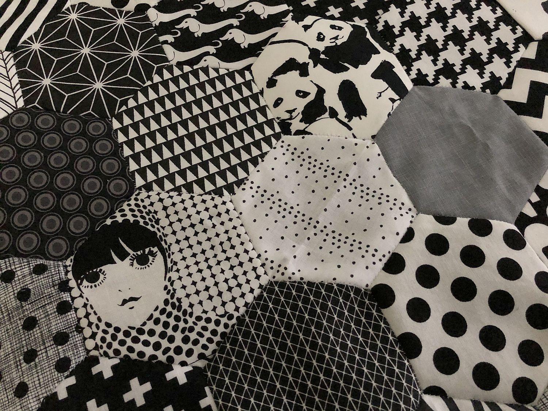 Hexagondecke nähen