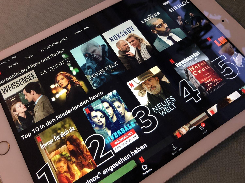 Geoblocking Netflix
