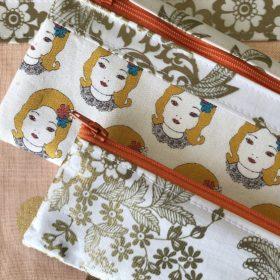 Schnittmuster für Täschchen aus Wachstuch und Canvas