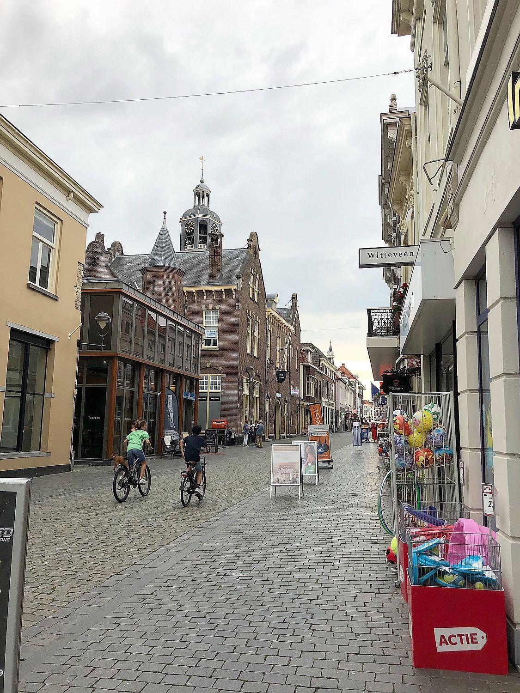 Fußgängerzone in Bergen op Zoom
