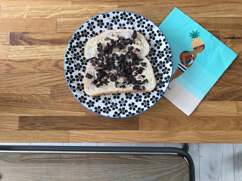 Hagelslag zum Frühstück