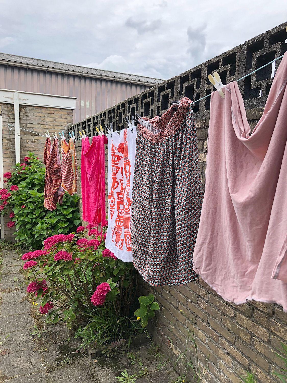 Wäsche auf der Leine trocknen ist umweltfreundlich