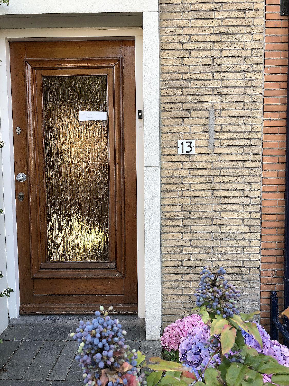 Backsteinhaus in den Niederlande