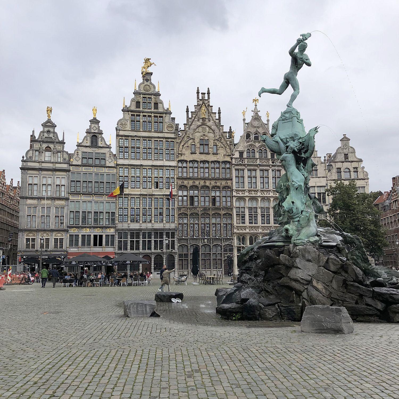 Urlaub in Antwerpen