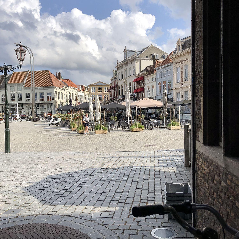 Gastronomie auf dem Grote Markt in Bergen op Zoom