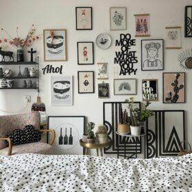 kleines Make-Over im Schlafzimmer - Gallerywall
