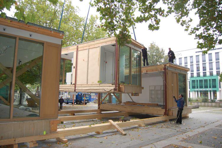 Aufbau des Plus-Energie-Haus