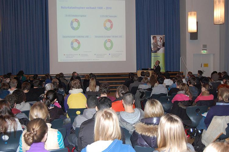 Vortrag in der Schillerschule
