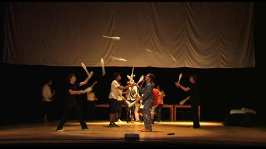 Erstaufführung in einem Theater in Casablanca im Herbst 2010