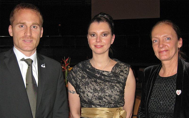 Jan Baler, Teresa Enke und Ira Thorsting