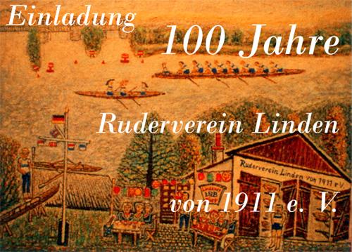 100 Jahre Ruderverein Linden e.V.