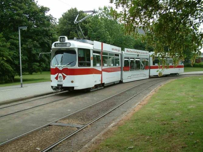 Strassenbahn in Braunschweig