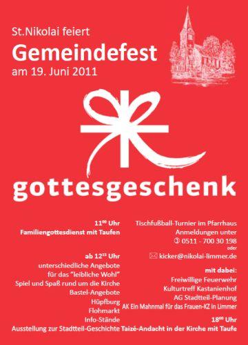 Gemeindefest St. Nikolai