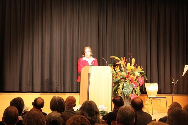 Bezriksbürgermeisterin Barbara Knoke