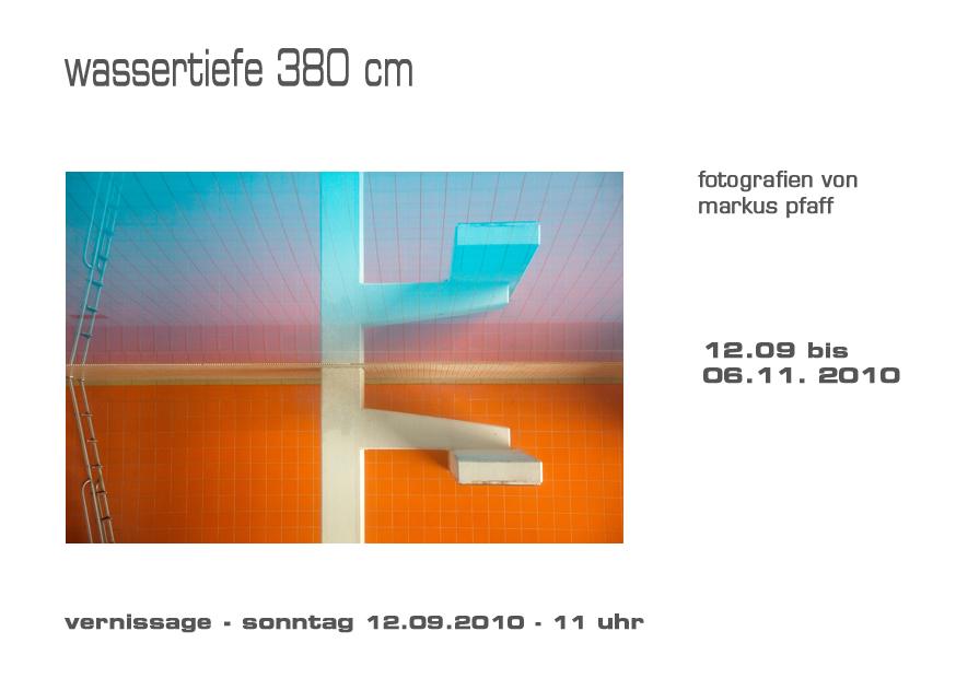 wassertiefe 380 cm von Markus Pfaff