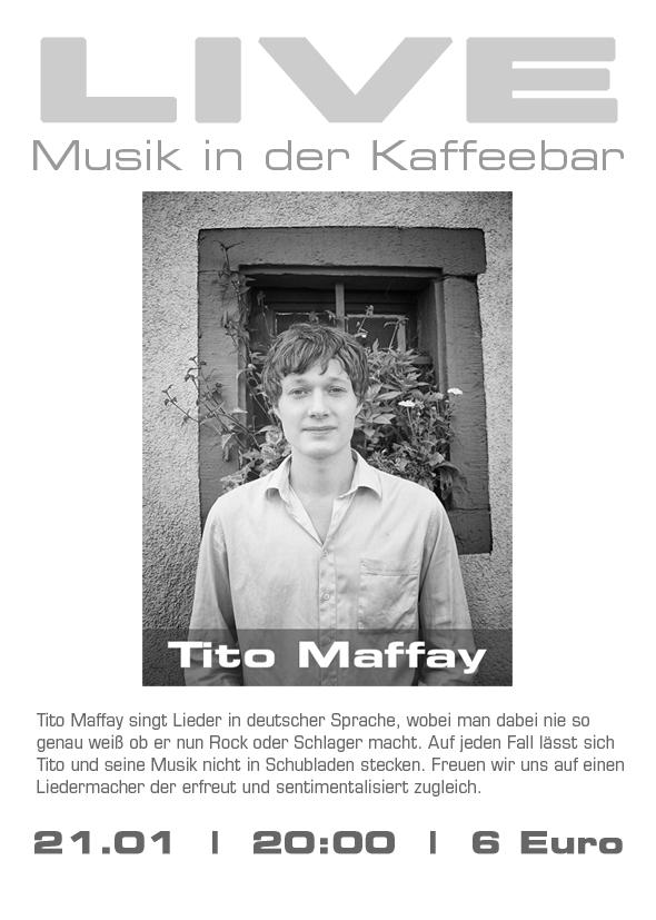 Tito Maffay Live im Rossi
