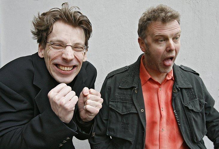 Peter Düker und Wolfgang Grieger