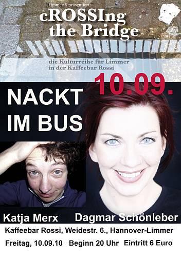 Nackt im Bus