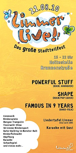 Stadtteilfest Limmer Live 2010