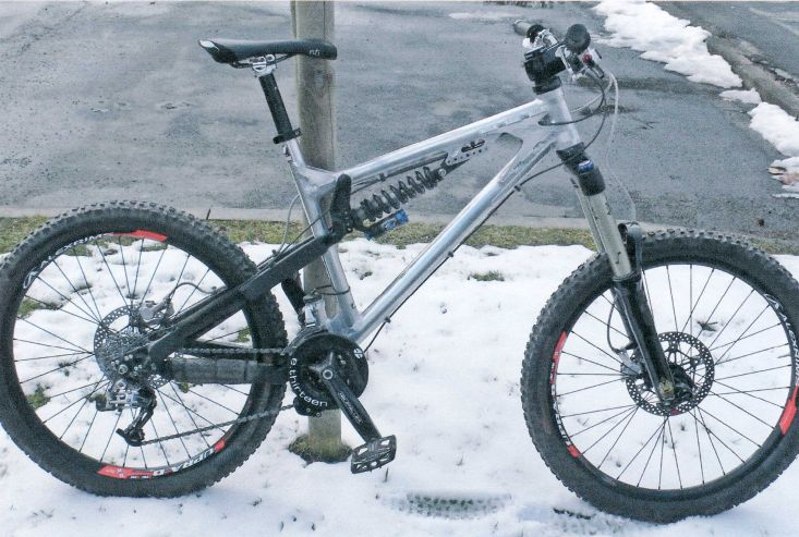 Gestohlenes Mountainbike