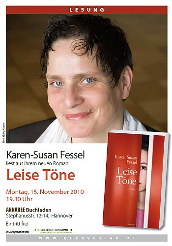 Lesung bei Annabee: Karen-Susan Fessel