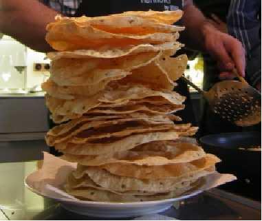 Die Küche Indiens