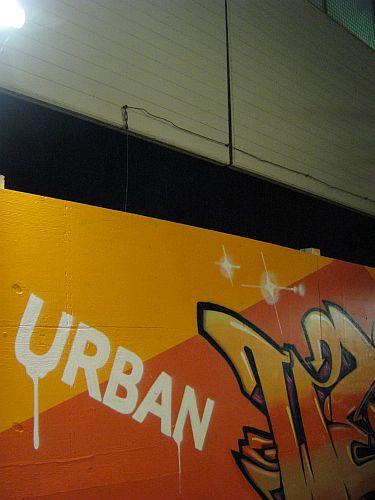 Etwas urbaner wird das Zentrum durch die Kunstwerke schon