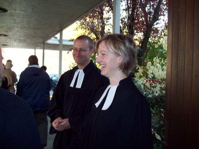 Pastorenehepaar Häusler - Foto: Jürgen Wessel