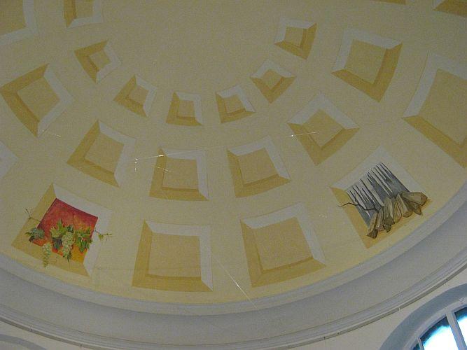 Eines der Vereinsprojekte: Die Kuppel des Pavillions