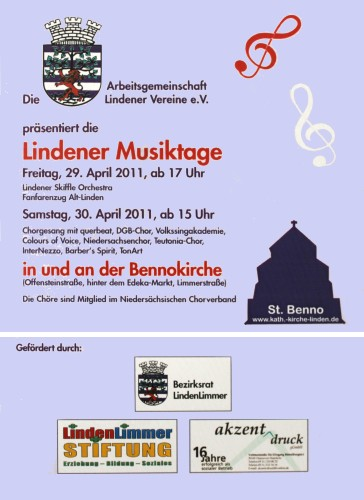 Lindener Musiktage 2011